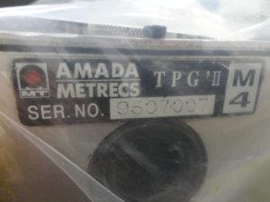 AMADA Tapper Tooling TPG'II